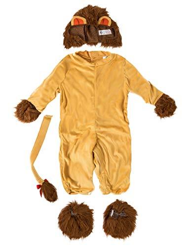 『ベビーライオンコスチュームジャンプスーツ』