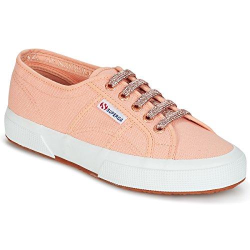 Superga 2750 Classic Super Girl Exclusive Sneaker Damen Rose - 38 - Sneaker Low Shoes