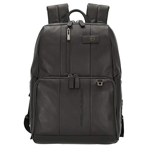 Piquadro Urban Laptop-Rucksack 39 cm black