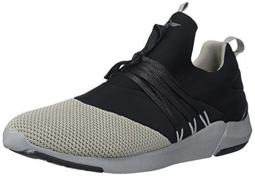 Creative Recreation Men's Matera Sneaker, Black/Grey, 9 D US