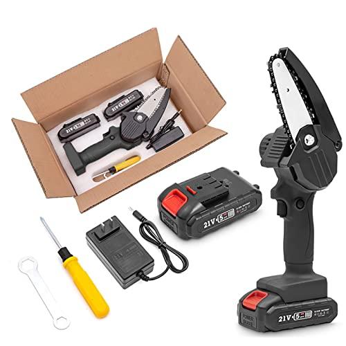 Tool Box Mini Motosierra Eléctrica con Batería Recargable...