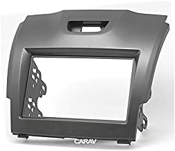 Carav 11-292 2Din Car Radio Stereo Face Facia Fascia Panel Frame DVD Dash Installation Surrounded Trim Kit for ISUZU Dash Kits