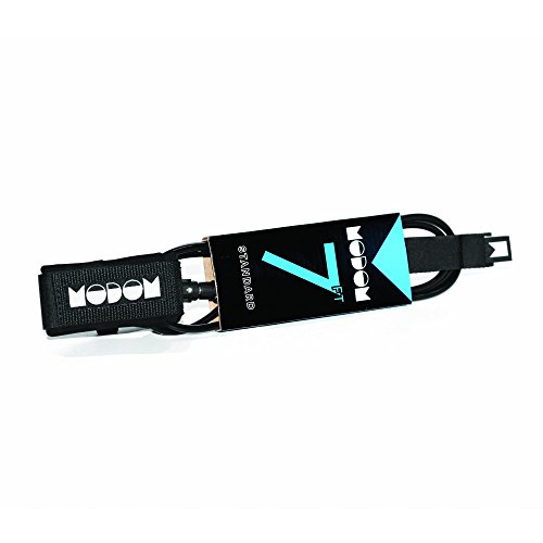 Modom Standard 7mm Surfboard Leash Blackness