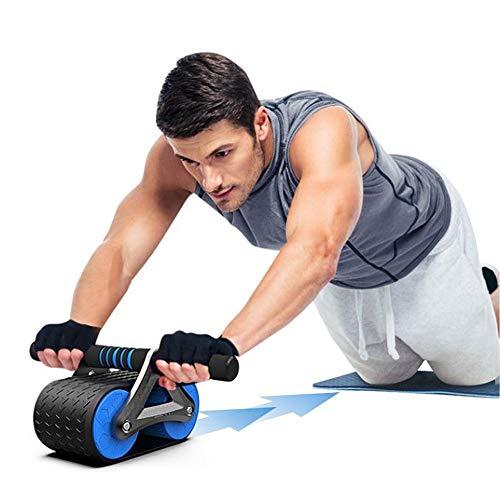 Eachbid Rueda Abdominales Fitness, AB Roller y Esterilla Antideslizante para Rodillas, Fitness...
