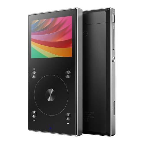 Reproductor de audio digital portátil de alta resolución FIIO X3 Mark III con Bluetooth 4.1 DSD (negro)