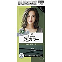 【10個セット】リーゼ 泡カラー フォレストカーキ