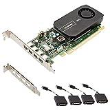 nVIDIA NVS 510  - Tarjeta gráfica de 2 GB GDDR3