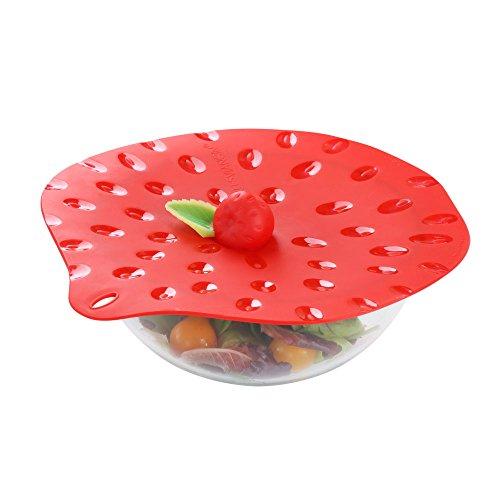 FRUIT ROUGE - Couvercle fraise 23 cm