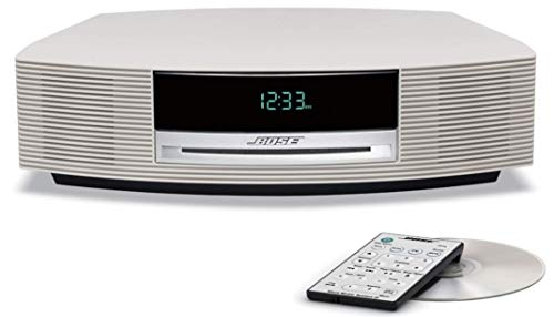 Bose Wave Music System III with Analog Am / FM Radio, CD Player and Alarm Clock ... (Platinum White)