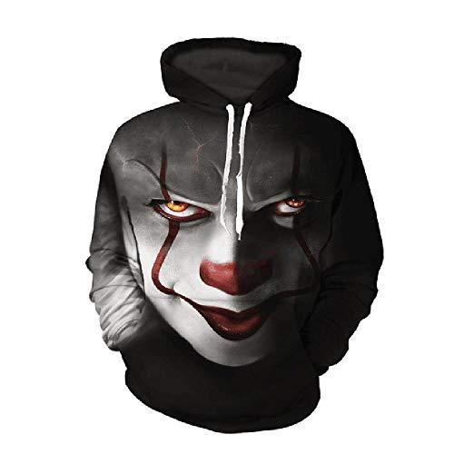 U/A Frühling und Herbst Herren Pullover Clown Hoodie Street Jacket