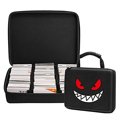 Cpano Extra Large Cards Case, Can Store 2400 Cards.Compatible with PM TCG...