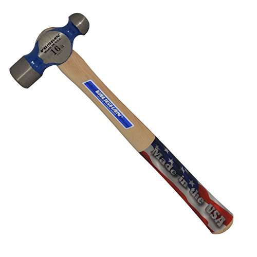 Vaughan TC016 16-Ounce Commercial Ball Pein Hammer