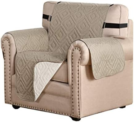 Reversible Chair Cover Furniture Protector Anti Slip Couch Cover Water Resistant 2 Inch Wide product image