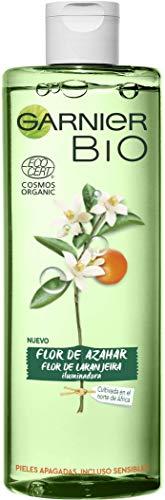 Garnier Bio Agua Micelar con Agua de Flor de Azahar Ecológica - 400 ml (Paquete de 1)