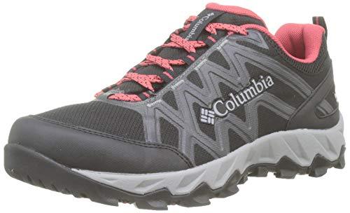 Columbia Peakfreak X2 Mid Outdry, Zapatos de Senderismo para Mujer, Negro (Black, Daredevi 010), 38 EU