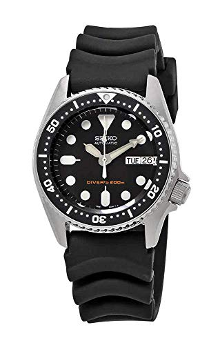 Seiko Black Automatic Dive Watch SKX013K1