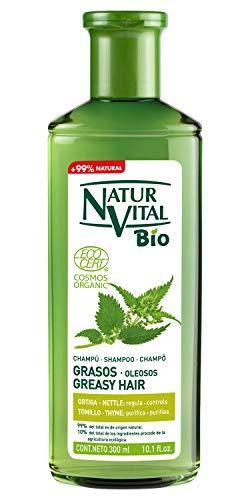 NaturVital Champú Bio Cabellos Grasos 300 ml