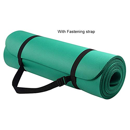 Universele Yogamat Vrouwelijke Nbr Dikke Gymnastiek Oefenpad voor Body Building Duurzame Sport Trainingsmat (groen)