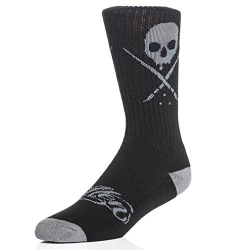 Sullen Clothing Socken - Standard Issue Crew Socks Schwarz-Grau