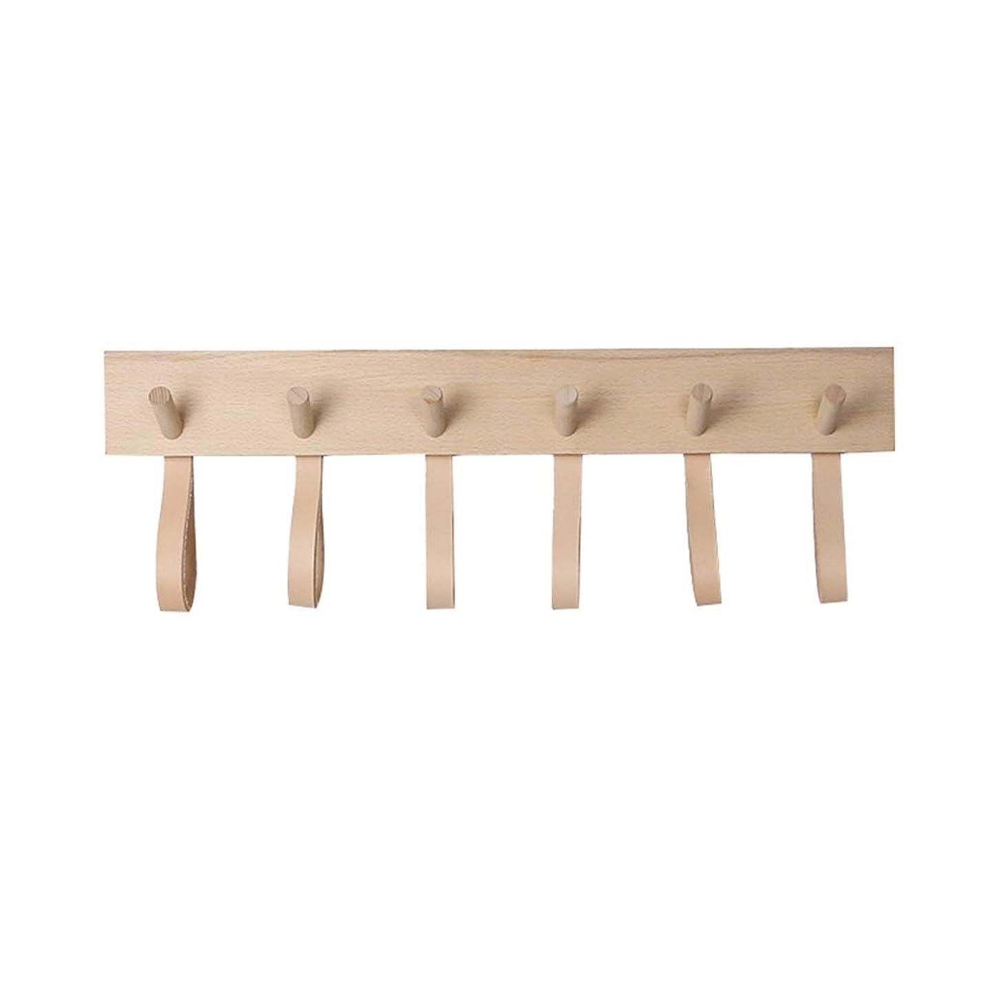 オークホールド速記壁に取り付けられたコートラックの純木の衣服の立場は取付けることが容易で、強い耐荷力があります AMINIY (Size : 600×82mm)