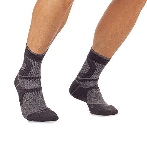 Mico trekkingschoenen, kort, van Micotex + lycra-vezels, 100% Made in Italy, unisex, middelgroot, voor dames en heren, kleur: grijs