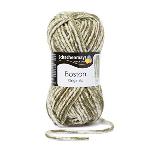 Schachenmayr Boston 9807412-00173 oliv denim Handstrickgarn