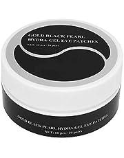 Professioneel oogverzorgingsmasker, 60 stks goud zwarte parel hydra-gel ooglapjes, hydraterende oogmasker voor fijne lijntjes, verdunnende donkere cirkel, verstevigend, anti-rimpels