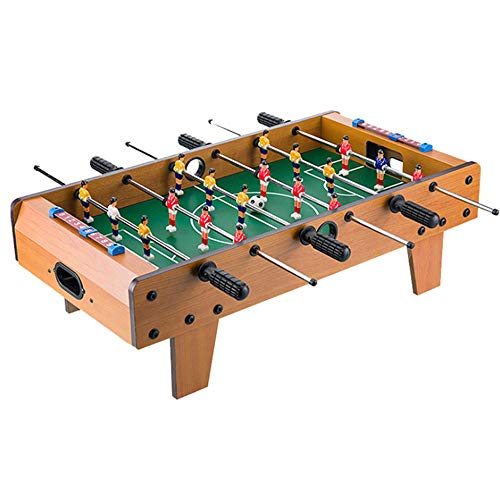 LMM Indoor Portable Tabletop Sports Toys for Children-Mini Football Table Games,Football Soccer Game Toy Set with Wooden Frame for Kids Toys Game Sets