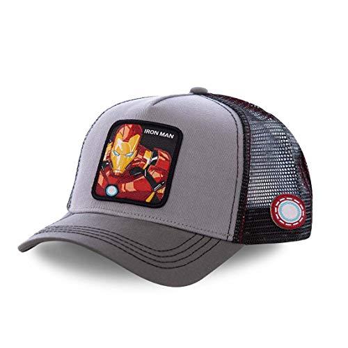 Collabs Iron Man - Zapatillas Bajas Hombre Gris Talla 40