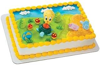 Tweety on Turtle- Baby Looney Tunes Cake Topper
