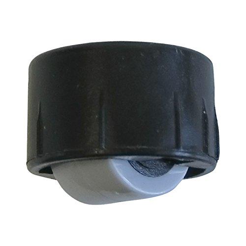 Dörner + Helmer 790284 Bohrsenkrolle ohne Bund, Rollen ø 15 mm, Bohr ø 25 mm,...