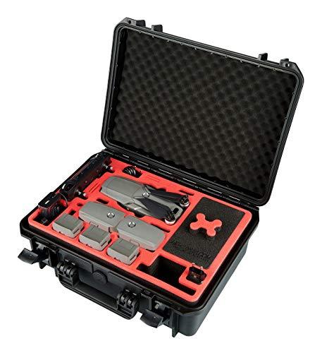 MC-CASES® Koffer für DJI Mavic 2 Pro/Zoom und Smart Controller - Explorer Edition - Platz für bis zu 9 Akkus