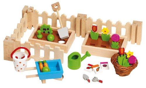 Goki-51729 Juegos de acción y reflejosJuegos de miniaturasGOKIAccesorios, mi pequeño jardín, para...