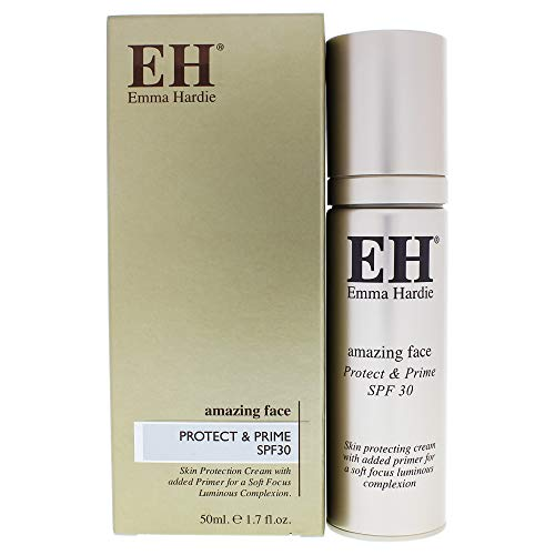 Emma Hardie | Protect & Prime Moisturizer SPF 30 | All Day Protection | Lightweight | For All Skin Types | Paraben Free | 1.7 oz