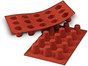 Silikomart SF019/C Silicone Classic Collection Mold Shapes, Baba, Small