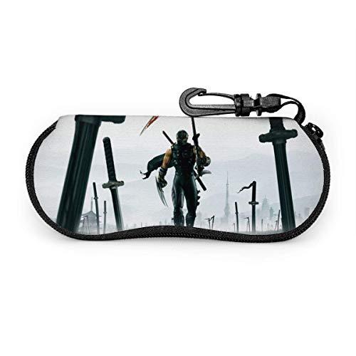 185 Eyeglass Case,Estuche Para Anteojos Ninja Gaiden, Estuche Para Anteojos Anticaída Con Mosquetón Para El Viernes Negro De Acción De Gracias,17x8cm