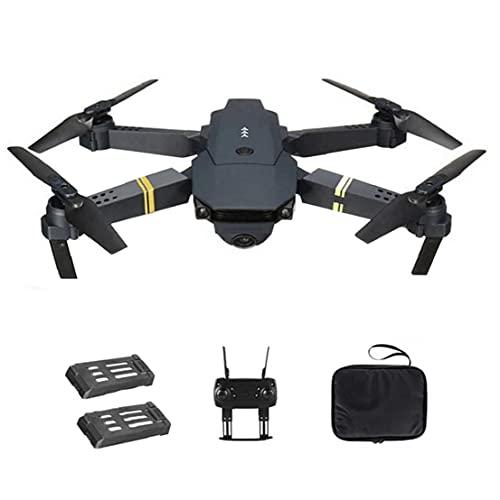 GGOOD Drone Quadcopter E58 WiFi FPV Mini Quadcopter 4K cámara Plegable Soporte avión no tripulado de Retorno automático con 2Batteries Productos de Seguridad