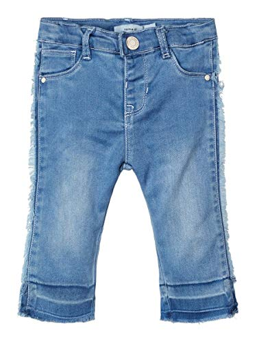 Name It Nbfsalli Dnmtora 1312 Pant Noos Jeans, Bleu (Light Blue Denim Light Blue Denim), 68 Bébé Fille