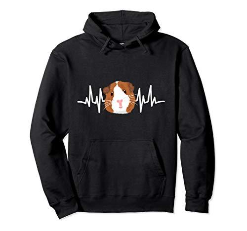Guinea Pig Outfit Herzschlag EKG Kleidung Meerschweinchen Pullover Hoodie