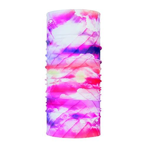 Buff Ray Tour de Cou Protection Solaire Mixte Adulte, Rose Pink, FR Fabricant : Taille Unique