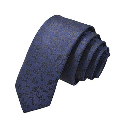 Black Temptation Mariage Epoux Cravates/Mode noeuds papillon/cravate/écharpe/Neckwear-Bleu
