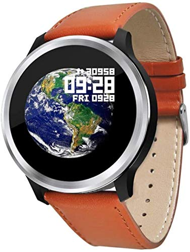 JSL ECG+PPG reloj inteligente impermeable pulsera deportiva HRV presión arterial frecuencia cardíaca reloj de prueba naranja-naranja