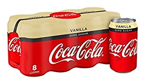 Coca-Cola Zero Sugar Vanilla 8 x 330ml Cans (B06XX6LNKT) | Amazon price tracker / tracking, Amazon price history charts, Amazon price watches, Amazon price drop alerts