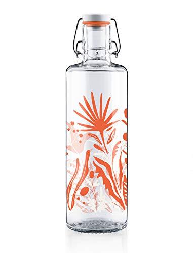 Soulbottles Wildblumen Botella, Vidrio, cerámica, acero inoxidable, caucho natural, Flores silvestres