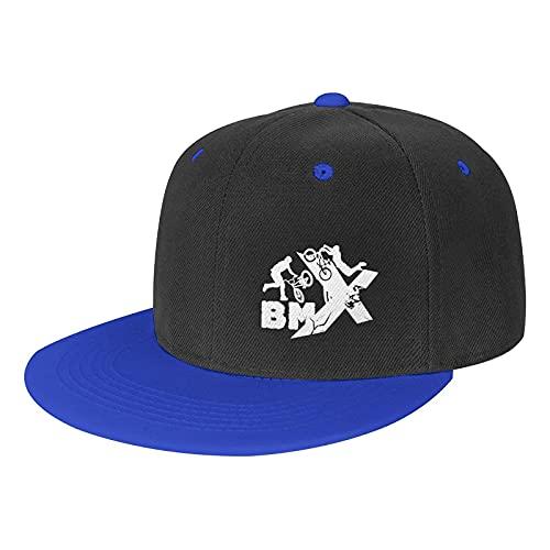 N A Unisex Adulto Hit Color Hip-Hop Baseball Cap BMX Rider Dimensione Regolabile Baseball Cap