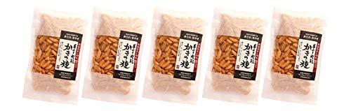 無添加 せんべい 加藤製菓 大粒 かきの種 120g×5袋★ コンパクト ★新潟県産契約栽培もち米を100%使用した、米の味がしっかりした大粒の柿の種です。