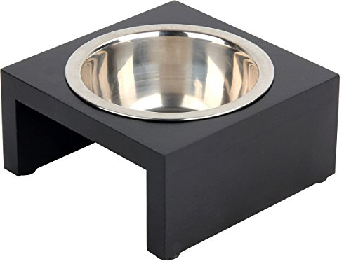 PAWISE 11123 Futterstation Wassernapf Hundenapf Fressnapf Deluxe Pet Diner, 750 ml