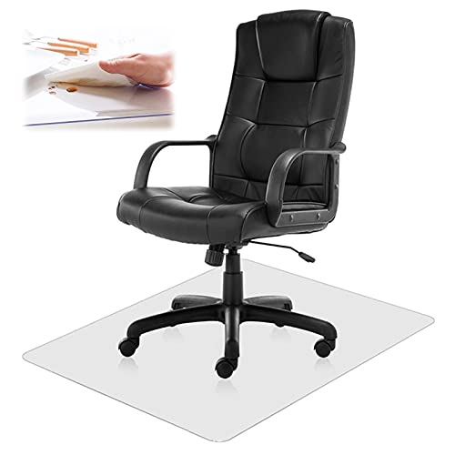 non rolling office chairs sql Office Chair Mat Clear Office Floor Mat,Chair Mat, 1.5mm Thick PVC Heavy Duty Floor Protector Mat Chair Mats for Rolling Chairs,Non-Slip,for Hardwood Floor,Tile Floor,Carpet
