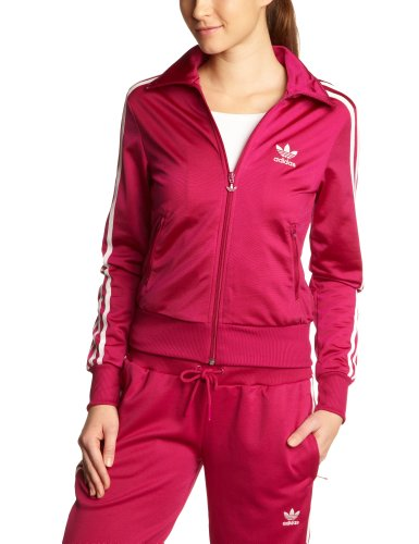 adidas Damen Trainingsjacke Firebird Track, power pink / running white, 38, W67912