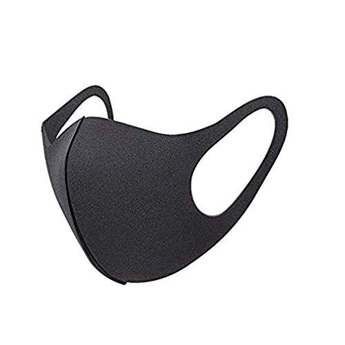 Firoya 30 Stück Die Bequeme Passform eignet Sich für Männer und Frauen auch wenn sie eine Brille mit elastischen Haken tragen (30-schwarz)